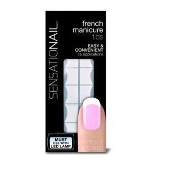Sensationail French Manicure White Tips