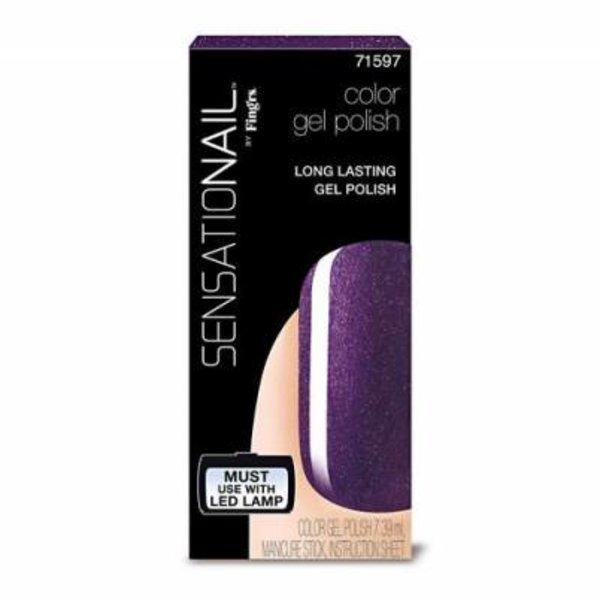 Sensationail Sensationail Gel Polish Purple Orchid