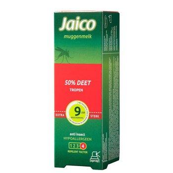 Jaico Muggenmelk Tropen 50% Deet Spray