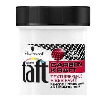 Schwarzkopf Taft Paste Carbon Force - 130 ml