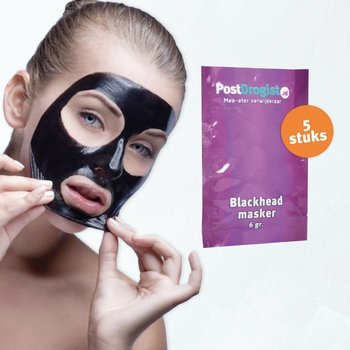 Postdrogist Blackhead Maskers - 5 stuks