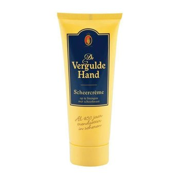 Vergulde Hand Scheercreme Tube - 100 ml