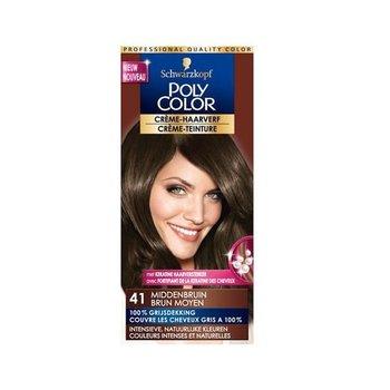Poly Color Haarverf 41 Middenbruin