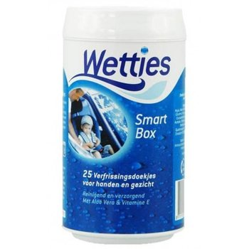 Wetties Smart Box Aqua - 25 stuks