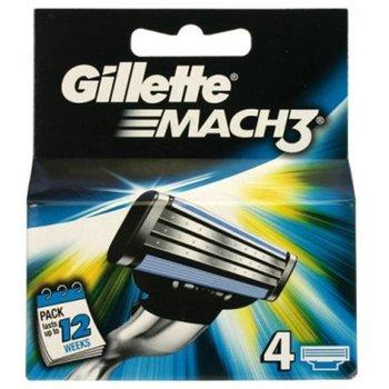 Gillette Mach 3 scheermesjes - 4 stuks