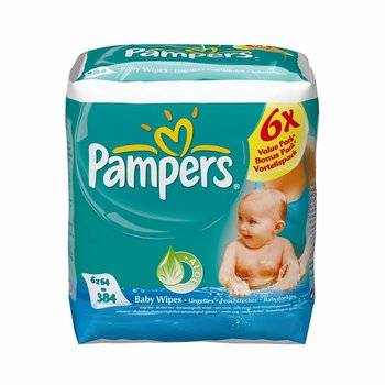 Pampers Fresh billendoekjes 6x64