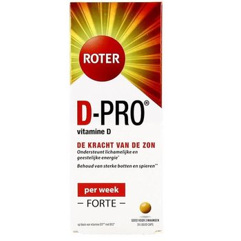 Roter D-Pro Forte 20µg 28 Capsules