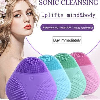 Elektrische gezichtsmassage/reiniger ROZE