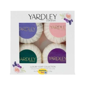 Yardley Luxe Zeep Collectie - 4x50 gram