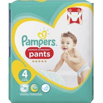 Pampers Premium Protection Pants - Maat 4 (9-15 kg) - 19 Stuks - Luierbroekjes