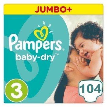 Pampers Baby Dry maat 3 - 104 luiers