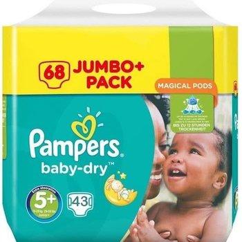 Pampers Baby Dry maat 5+ - 43 luiers