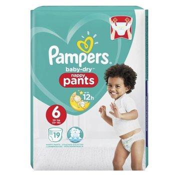 Pampers Baby-Dry Pants - Maat 6 (Extra Large) 15+ kg - 19 Stuks - Luierbroekjes