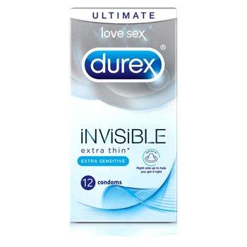 Durex Invisible Extra Thin Sensitive condooms 12 stuks