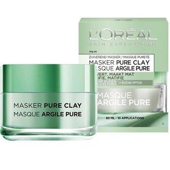L'Oréal Paris Skin Expert Pure Clay Zuiverend Gezichtsmasker - 50 ml