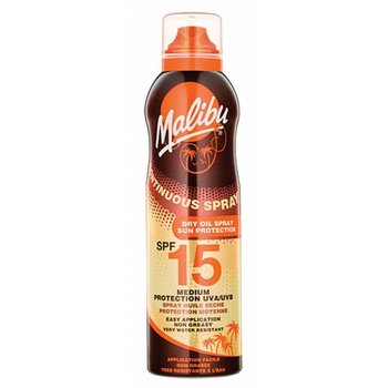 Malibu Zonnebrand Olie Spray 175ml SPF 15