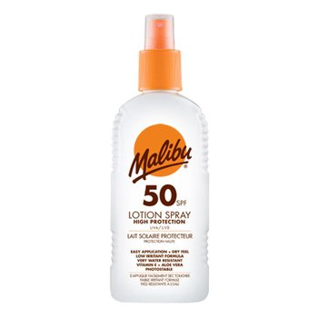 Malibu Zonnebrand Lotion Spray 200ml SPF 50