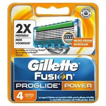 Gillette Fusion Proglide Power - 4 scheermesjes