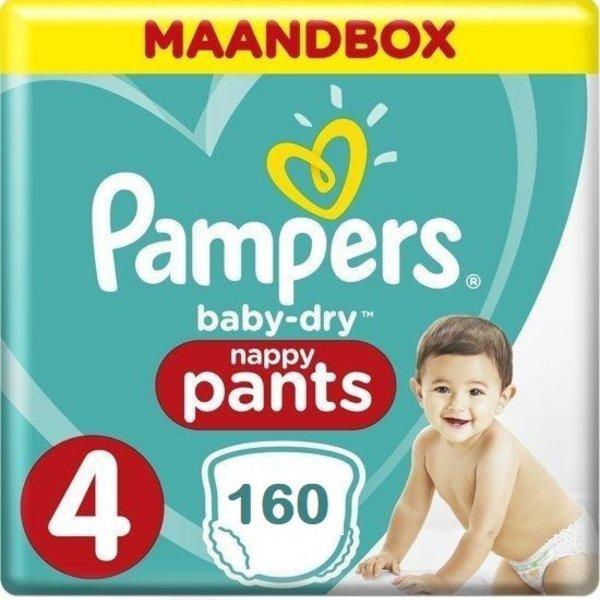 Pampers Pampers Baby Dry Pants Maat 4 - 160 luierbroekjes