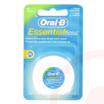 Oral B Interdentaal Floss Mint Waxed 50