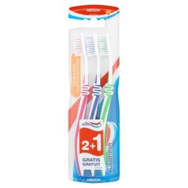 Aquafresh Aquafresh TB Clean & Flex Medium 3 st
