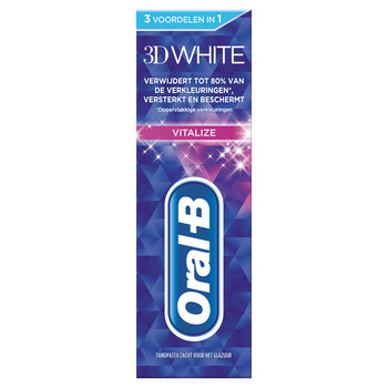 Oral B Tandpasta 75 ml 3DW Vitalize