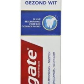 Colgate TP 75 ml Total Gezond Wit