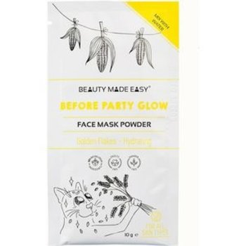 Beauty Made Easy Powder Mask Before Part