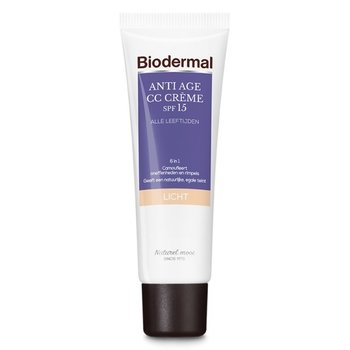 Biodermal Anti Age CC Cream SPF15 Light