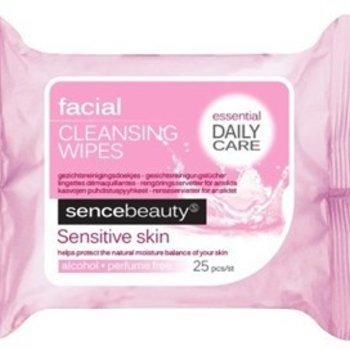 Sence Beauty Rein.Doekjes 25st Gev Huid