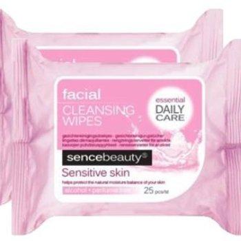 Sence Beauty Rein.Doekjes 2x25st Gev Hd