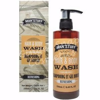 Man'Stuff Hair&Body Wash 250 ml
