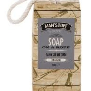 Man'Stuff Soap on a Rope 300g