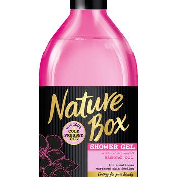 Nature Box Showergel 385ml Almond