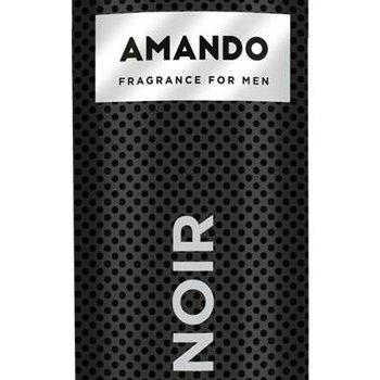 Amando Douche Foam 200ml Noir