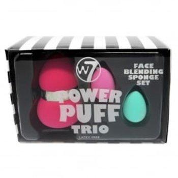 W7 Power Puff Face Trio