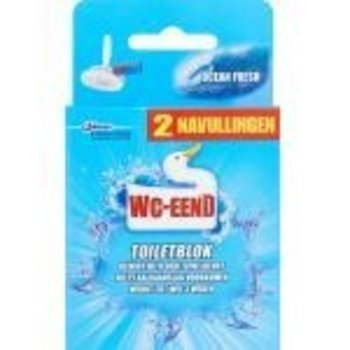 WC Eend Toiletblok Navul Duo Ocean Fresh