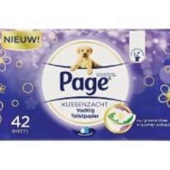 Page Vochtig Toiletpapier Navul Kussenza