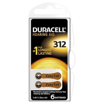 Duracell Gehoorapparaat DA312 6 stuks