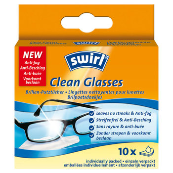Swirl Brillendoekjes Clean Glasses 10st