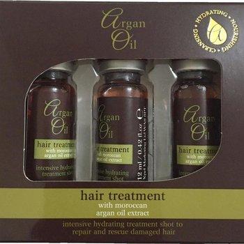 Argan Oil Hair Treatment Shots 3x12ml
