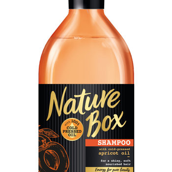 Nature Box Shampoo 385ml Apricot Shine