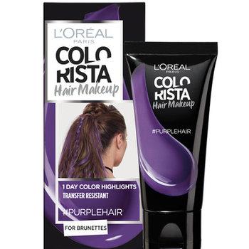 Colorista Hair Makeup Purplehair