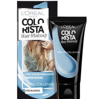 Colorista Hair Makeup Metallicbluehair