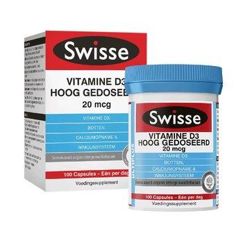 Swisse Ultiplus Vitamine D3 HD 100 tabl.