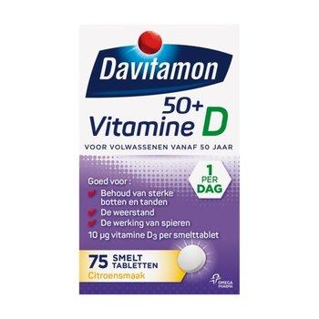 Davitamon Vitamine D 50+   75 smelttabl