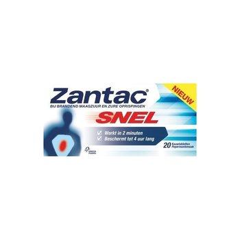 Zantac Reduflux Snel 20 tabletten