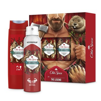 Old Spice Cadeauset Bearglove