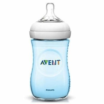 Avent Zuigfles Natural 260ml Blauw 1 st