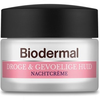 Biodermal Nachtcrème 50 ml Droge/Gevoelige Huid